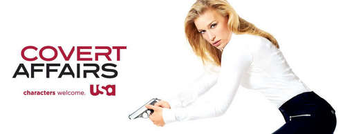 When was Covert Affairs renewed for a third season oleh USA Network?