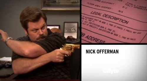 What episode is Nick Offerman's 2nd intro clip from?