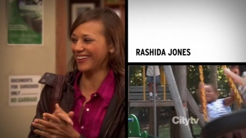 What episode is Rashida Jones's سیکنڈ intro clip from?