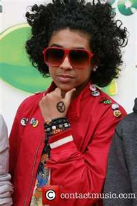 What hand does Princeton have the peace sign on