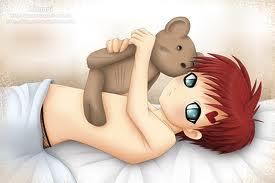 what is the name of gaara's teddy くま, クマ from when he was a kid?