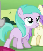 Who is this filly?