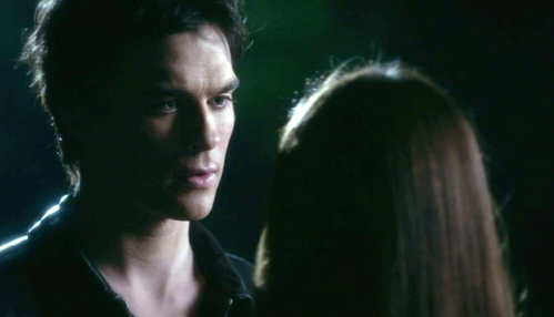 """You want a love that consumes you."" What else does Damon say Elena wants?"