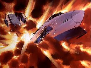 In Episode 5 (The Bullet Train Bombing Case) what is the time left at the moment Conan kicked the bomb?