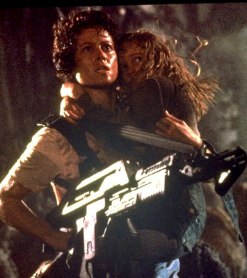 What is the FIRST NAME of Ripley in the Alien franchise?