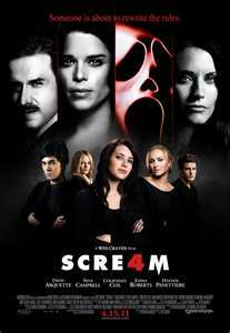 Which Pretty Little Liars star appears in Scream 4 as Sherrie?