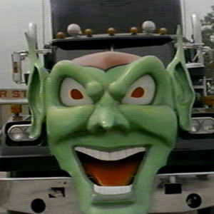 "Who does Stephen King star as in the film adaptation of his novel ""Maximum Overdrive""?"
