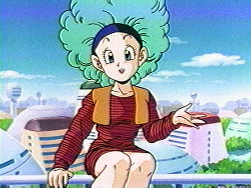 How many hairstyles did Bulma go through?