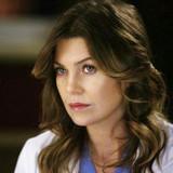 How many episodes has Ellen Pompeo been in as Meredith Grey?