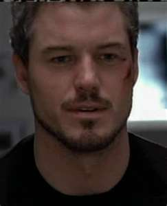 How many episodes has Eric Dane been in as Mark Sloan?
