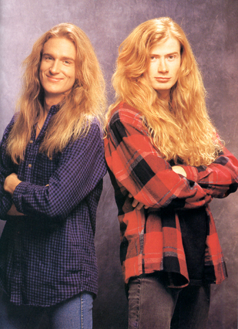 What is Dave Mustaine's nickname for Megadeth's bassist David Ellefson?