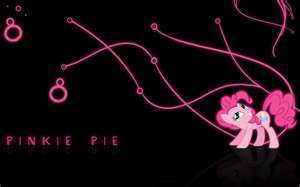 What was pinkie pie meant to be?