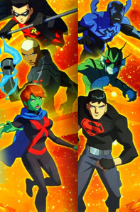 How many years older are the young justice?