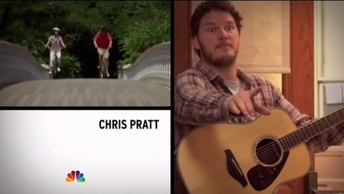 What episode is Chris Pratt's second intro clip from?