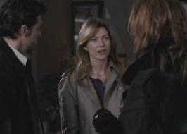 What did Addison refer to Meredith as after she left Derek with her?
