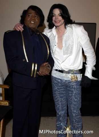 Who was Michaels Idol besides James Brown?