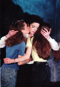 Who was Michael´s first Girlfriend?