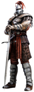 Muliplayer; What is the Knight's real name?