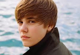 Who was Justin Bieber's first love?