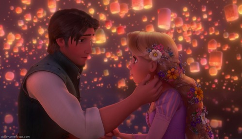 Name the song where Rapunzel & Eugene are on a boat seeing the lanterns rising into the sky.