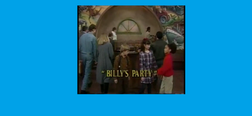 In the episode: 'Billy's Party', they rush out when they hear Ginny outside with Stacy to find out what just happened?