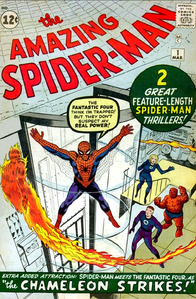 When was Spiderman #1 Comic released?