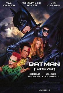 Which song was used as a soundtrack in the movie ''Batman Forever''?
