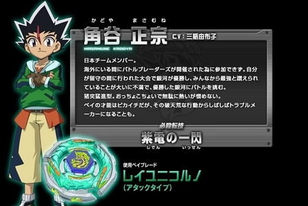 Who is The Enemy Of Masamune In [Beyblade Metal Masters?]