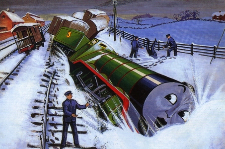 """In which book did Henry have his famous """"Flying Kipper"""" crash?"""