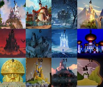 What movie is castle 8 from? (More questions to follow for the rest of the questions.)