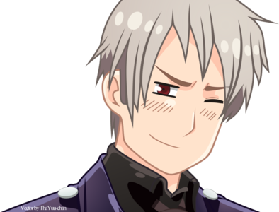 How does Prussia laugh?