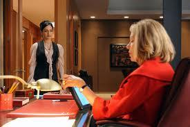 1x5: Diane hires Kalinda to look into Malcolm Overby and see if he'd make a good partner at the firm. What does Kalinda find out?