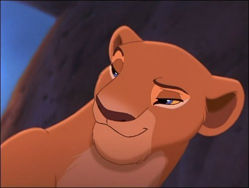What other Disney characters is Nala similar too?