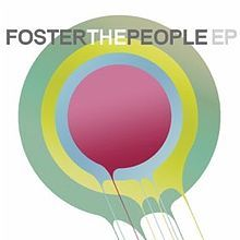 Which Song is also a Part of Foster The People's EP?