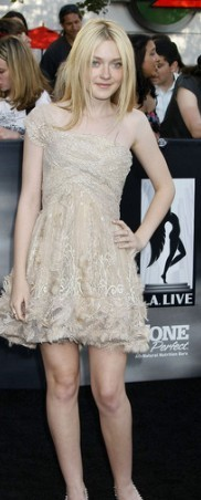 In which movie premiere did Dakota wear this dress?