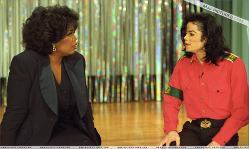 How old was Michael when he had his first world - wide Live Interview with Oprah Winfrey 1993?