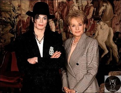 How old was Michael when Barbara Walters interviewed him 1997?