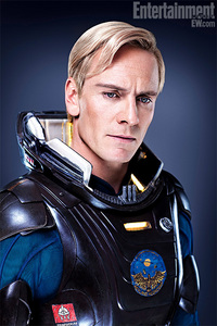 What&#39;s the name of his character in &#34;Prometheus&#34;?