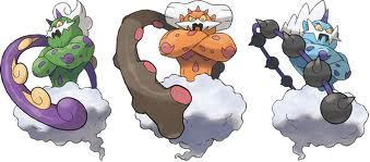 In pokemon black and white wich pokemon is not in the lengendary trio.