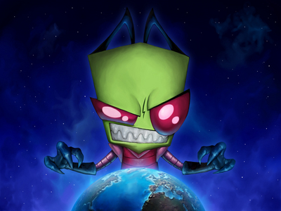 Why did the Almighty Tallest send Zim to Earth and give him annoying Gir?