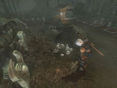 In Fable The Lost Chapters, how many keys can be found in the Lychfield Graveyard?