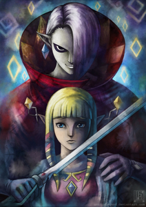 What does Ghirahim plan to do with Zelda?