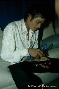 How old was Michael when his Album Thriller came out?