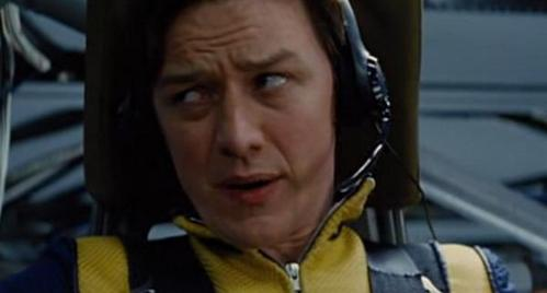 """X-Men: First Class - GIVE THE MOVIE RESPONSE: """"A little warning volgende time, professor?""""."""