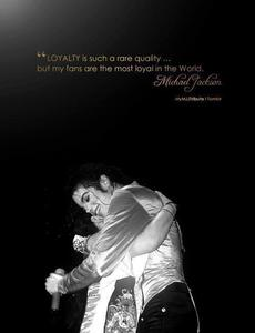 Michael loved his Fans?