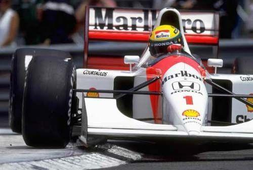 Which team was Ayrton Senna driving for in the 1994 F1 season?