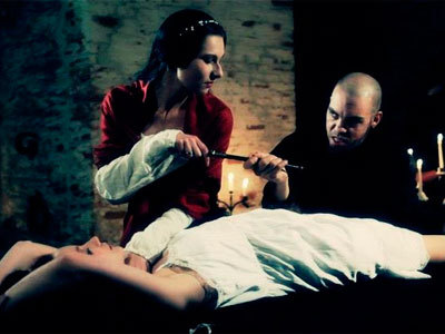 "Who portrays the countess in Opera Diabolicus' video ""Blood Countess Bathory""?"