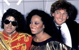 Who is this man in the picture with Michael and Diana Ross