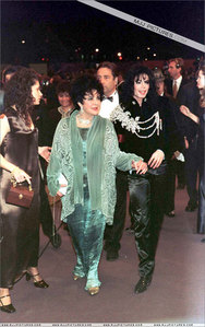 Who is this beautiful legendary film actress with Michael Jackson