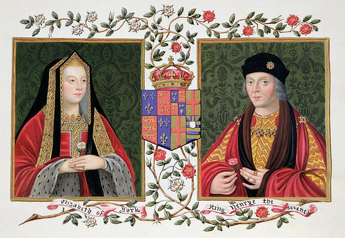 When did Henry VII marry Elizabeth of York?